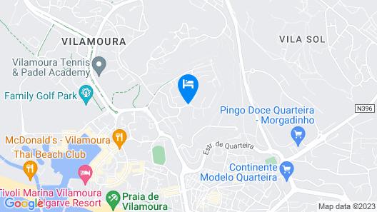Pinhal da Marina Apartamentos Turisticos Map