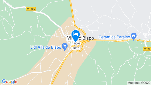 Pure Fonte Velha Bed and Breakfast Map