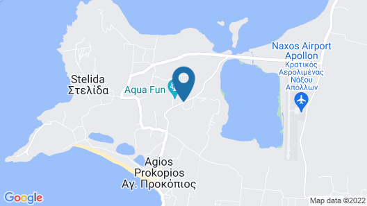 Naxos Palace Hotel Map