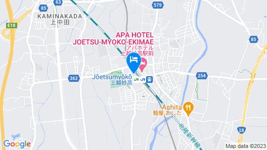 Toyoko Inn Joetsumyoko-eki Nishi-guchi Map
