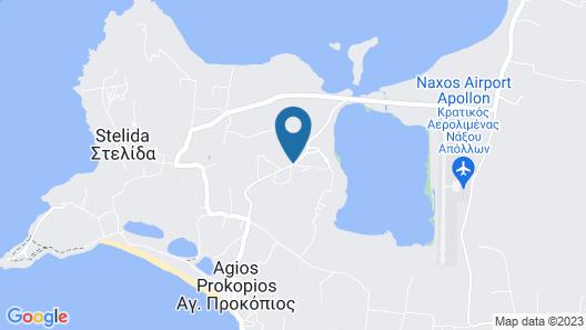 Naxian Utopia Luxury Villas & Suites Map