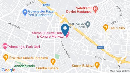 Shimall Hotel Map