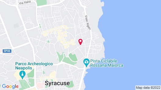 UNAHOTELS One Siracusa Map