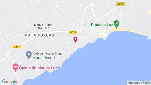 Aparthotel Vila Luz Map