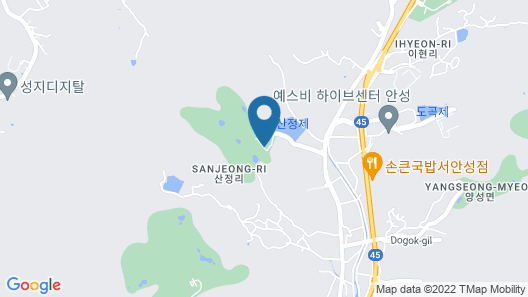 Lake Hills Anseong Resort Map