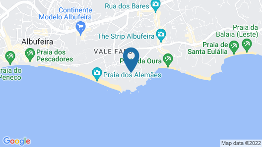 Auramar Beach Resort Map
