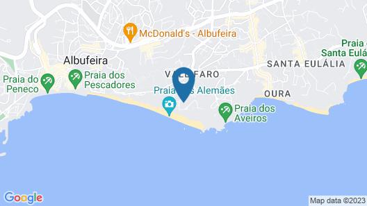 Monica Isabel Beach Club Map