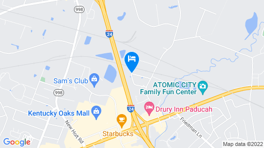 La Quinta Inn & Suites by Wyndham Paducah Map