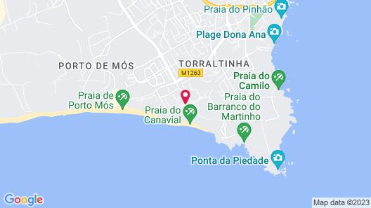 Porto Mós Residence Map