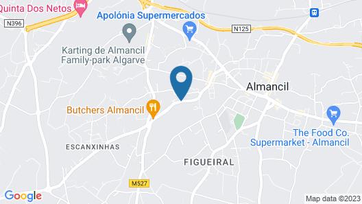 Almancil Hostel Map