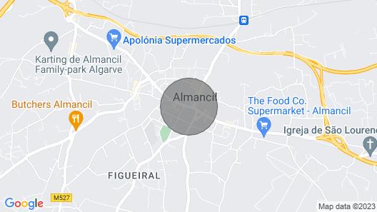Cruz Assumada Villa, Sleeps 9 With Pool and Wifi Map