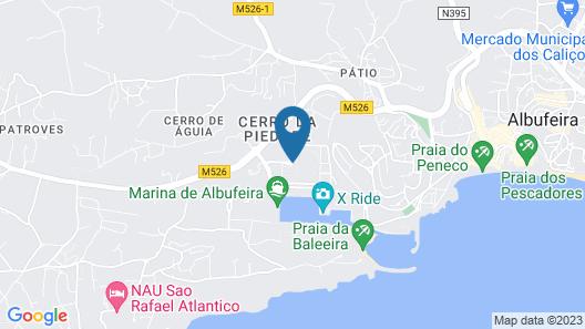 Orada Apartamentos Turísticos Marina de Albufeira Map