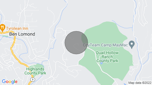 Quail Hollow Ben Lomond, Untouched by Fire, Socially Distant, Politepets Welcome Map