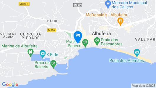 Vila São Vicente - Adults Only Map