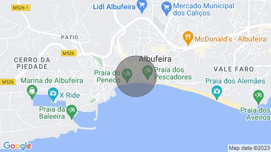 Muralhas da Vila Apartment Map