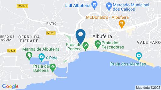 Hotel Vila Recife Map