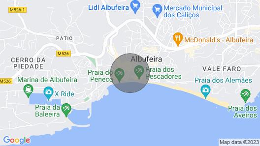 Toca do Coelho Map