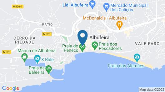 Peneco Albufeira GuestHouse Map