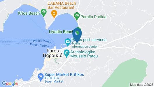 Aratos Hotel Map