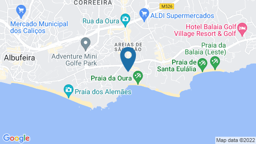 Grand Muthu Oura View Beach Club Map