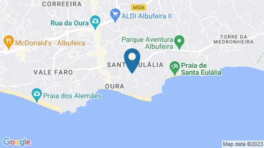 Quinta Pedra dos Bicos Map