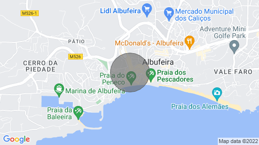 Family and Tourist Apartment 100 Meters From the Beach Peneco Map