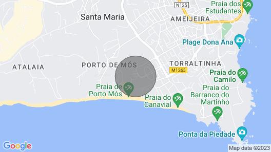 A08 - Magnolia Sea View Apartment Map