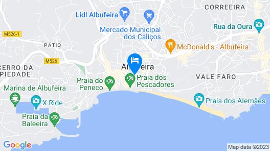 Apartamentos Tucha Map