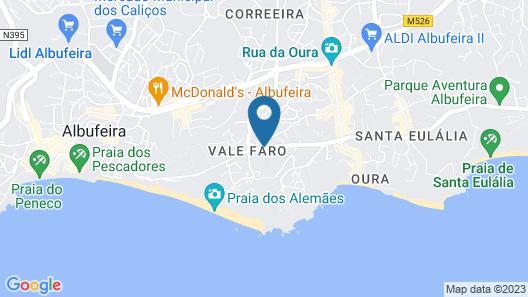 KR Hotels - Albufeira Lounge Map
