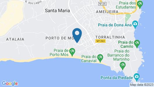 Villa Mar Azul Map