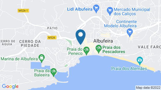 Hotel Colina do Mar Map