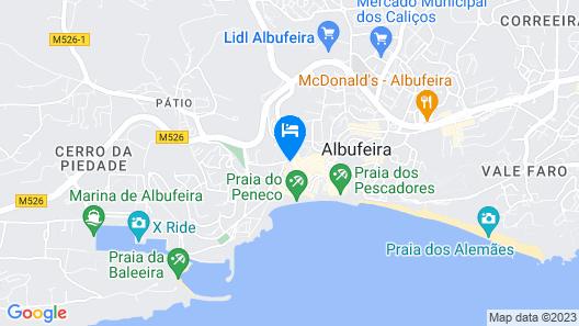 Son of a Beach Hostel Map