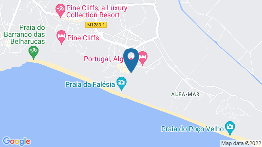 EPIC SANA Algarve Hotel Map