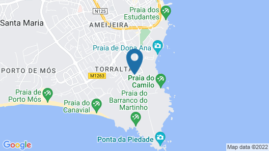 Costa D'Oiro Ambiance Village Map