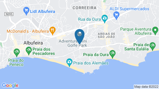 Grand Muthu Forte do Vale Map