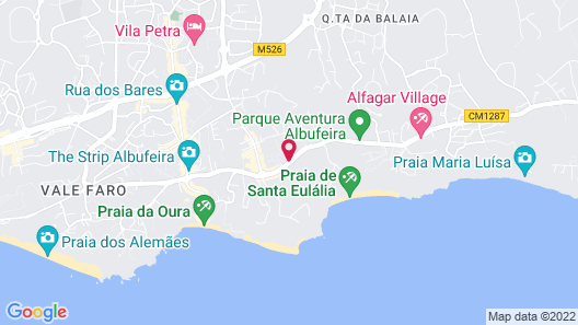 Santa Eulalia Hotel Apartamento & Spa Map