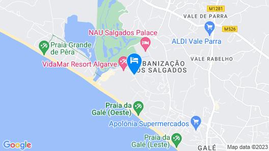 Salgados Dunas Suite Map