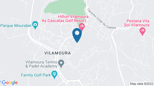 Vilamoura Garden Hotel Map