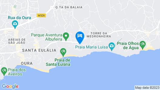 Alfagar Aparthotel Map