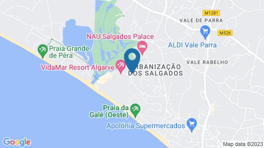 Salgados Beach Villas Map