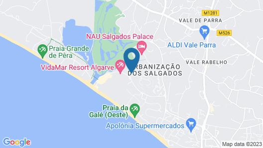 VidaMar Resort Hotel Algarve Map