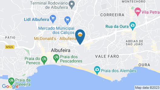 Vila Gale Cerro Alagoa Hotel Map