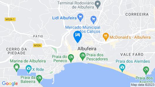 Alfagar Cerro Malpique Map