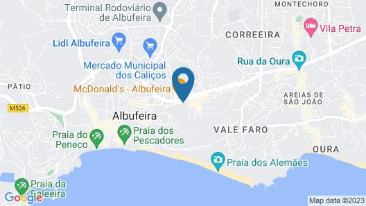 Hotel Apartamento Brisa Sol Map