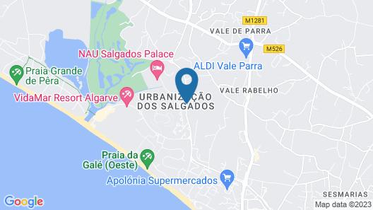Regency Salgados Hotel & Spa Map