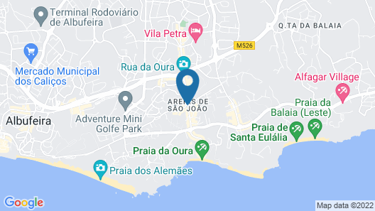 Hotel da Aldeia Map