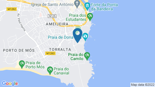 Carvi Beach Hotel Map