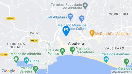 Cerro Mar Atlantico & Cerro Mar Garden Map