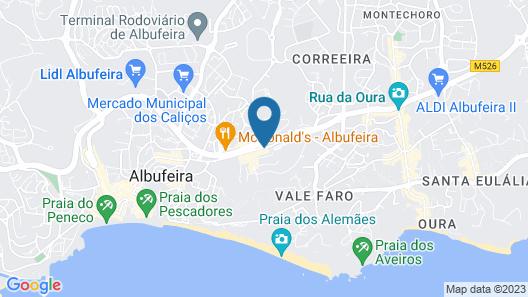 Paladim & Alagoamar Hotels Map