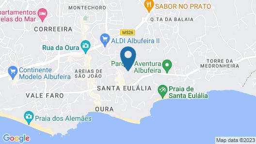 Natura Algarve Club Map